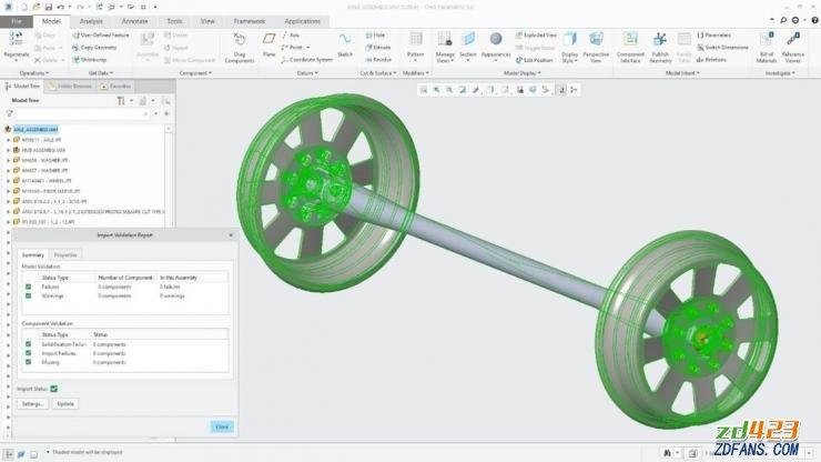 PTC Creo 5.0.1.0 + HelpCenter Win64 中文破解版 全球著名3D图像软件-WP迷死