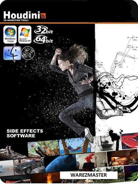 3D特效制作软件 SideFX Houdini FX v17.0.352-WP迷死