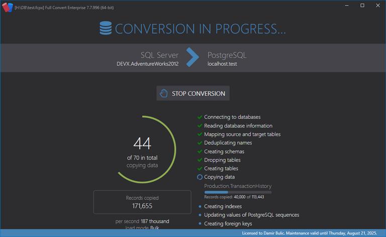 专业数据库转换软件 Full Convert Enterprise v18.10.1490-WP迷死