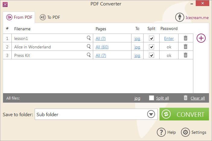 PDF转换工具 Icecream PDF Converter Pro v2.82-WP迷死