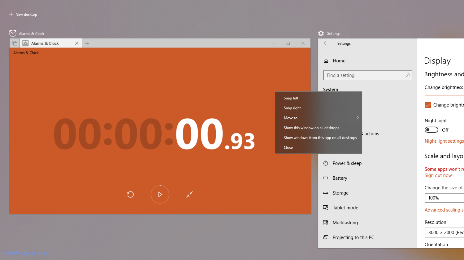 微软正在Windows 10 预览版中测试右键菜单半透明化