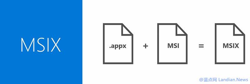 微软开始面向开发者提供MSIX格式封装解决方案的预览版