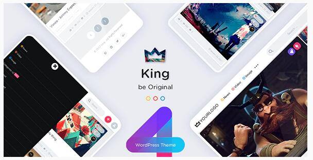WordPress视频图片主题King 4.0-WP迷死