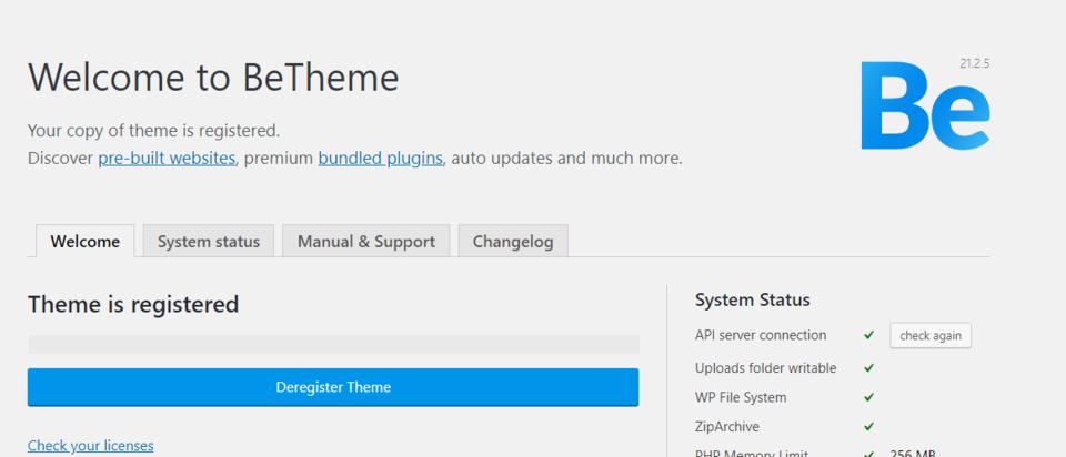 WordPress国外十佳主题-BeTheme 21.2.5-手游资源站