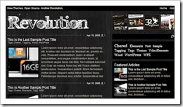 Revolution Theme开源免费啦-WP迷死