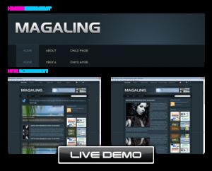 WordPress Theme: Magaling-WP迷死