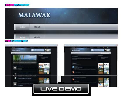 WordPress Theme: Malawak-WP迷死