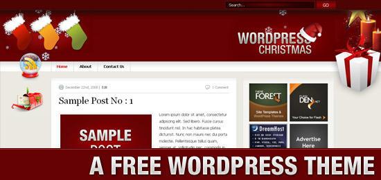 WordPress主题 Christmas-WP迷死
