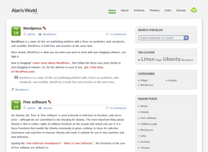 WordPress主题G-White 2.0-WP迷死