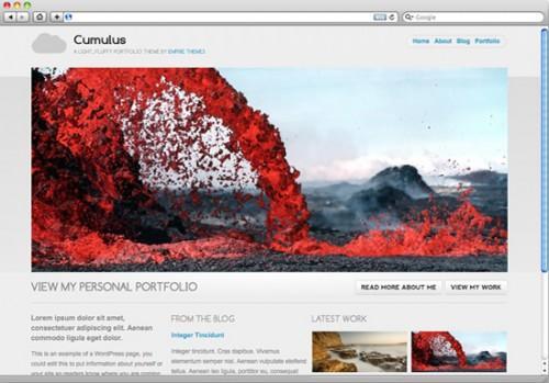 WordPress主题 Cumulus-WP迷死