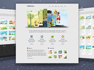 WordPress设计类主题:Fadelicious-WP迷死