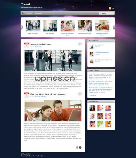 apple WordPress主题itheme2-WP迷死