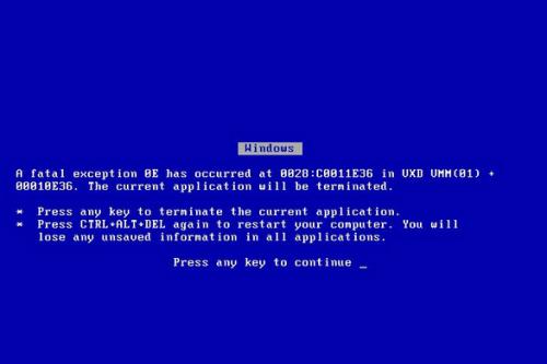 也许Windows已经告别蓝屏了!-WP迷死