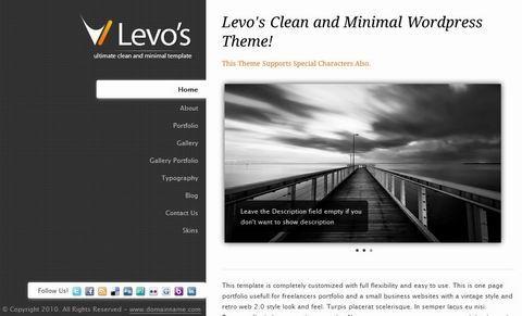 WordPress主题Premium WordPress Theme Levos 5 in 1 v1.4-WP迷死