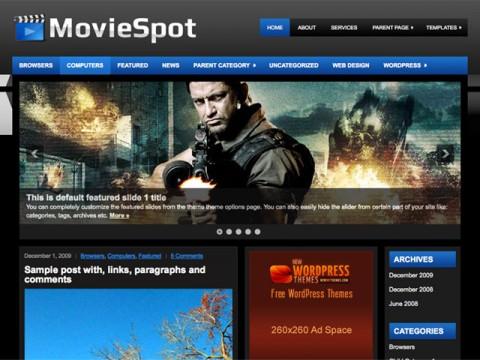 WordPress影视主题MovieSpot-WP迷死