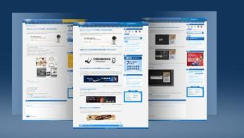 蓝色类异次元WordPress主题SaiKor V1.0-WP迷死